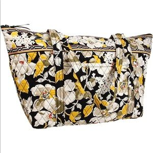 Vera Bradley   Dogwood Tote Travel Bag